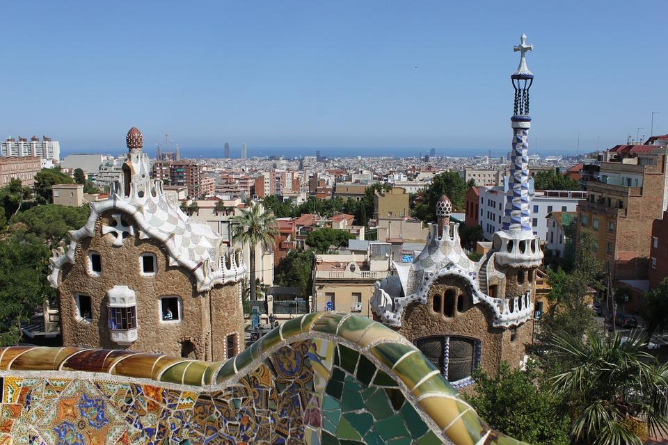 stavby Gaudího